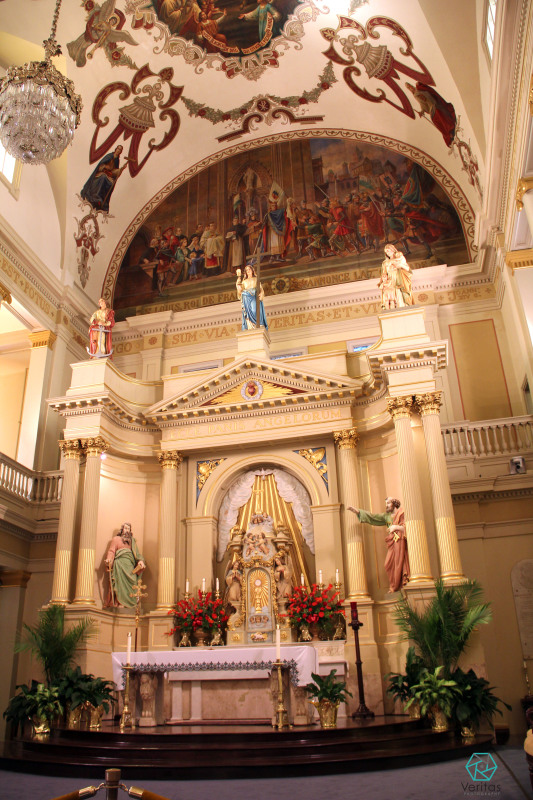 St. Louis Cathedral alter